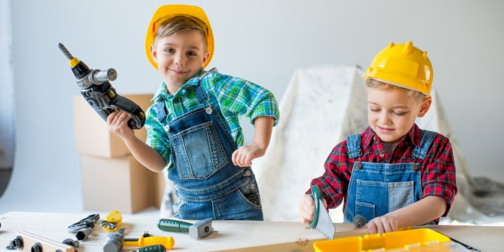 Das lässt Kinderherzen höher schlagen - ein Kinder Werkzeugkoffer