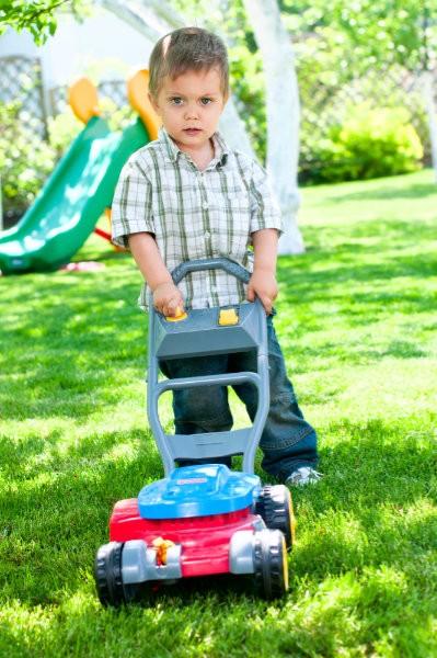 Kinder Rasenmäher mit Geräusch sind bei Kindern sehr beliebt