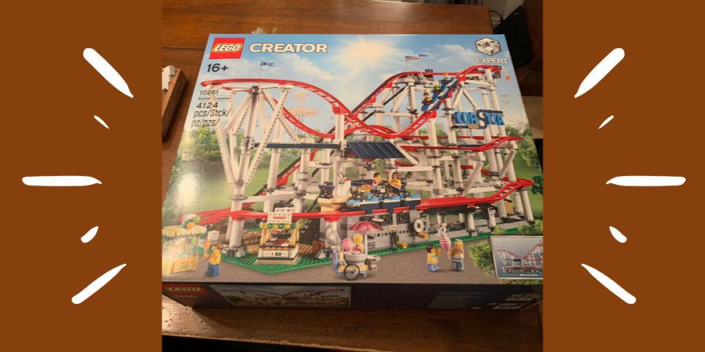 Die Lego Creator Achterbahn ist da. Papas Projekt kann starten