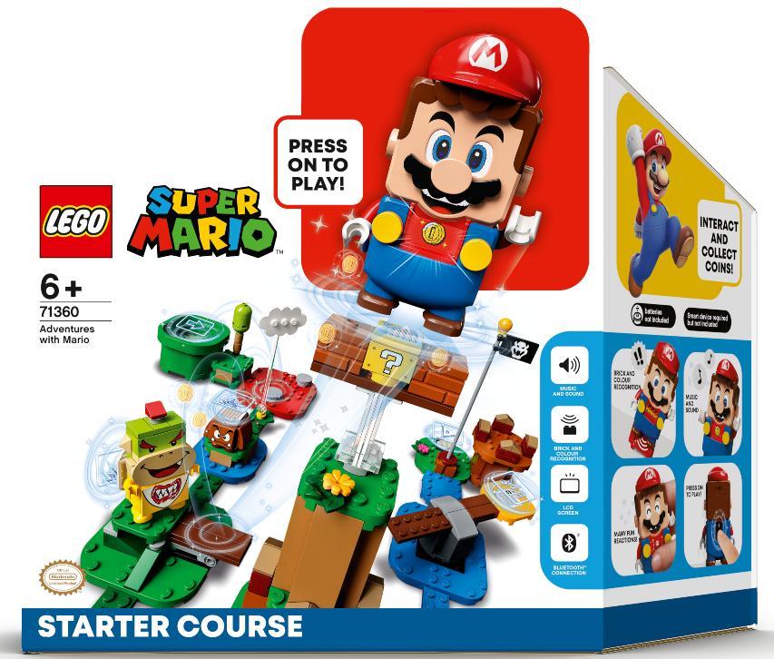 Die ersten Bilder auf das Lego Super Mario Sets