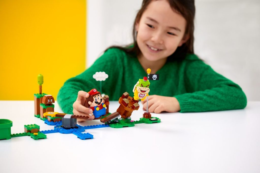 Die Lego Super Mario Sets werden sicher der Renner im Kinderzimmer