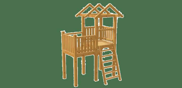 Spielturm selber bauen - Bauanleitung zu Spielturm 1