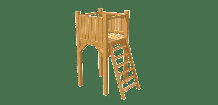 Spielturm selber bauen - Bauanleitung zu Spielturm 3