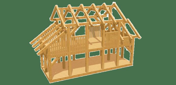 Spielturm selber bauen - Bauanleitung zu Spielturm 6
