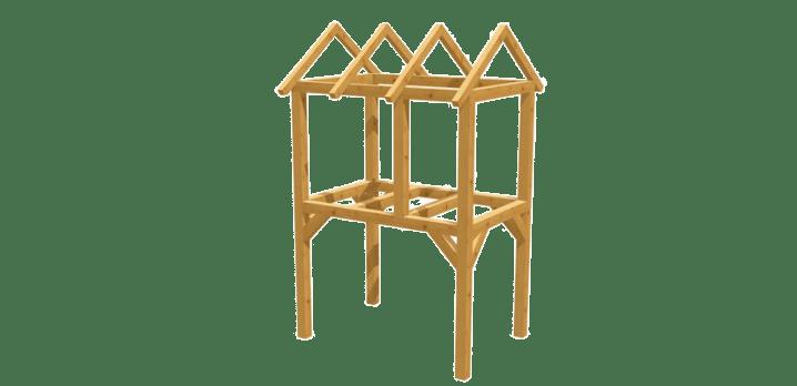 Spielturm selber bauen - Bauanleitung zu Spielturm 7