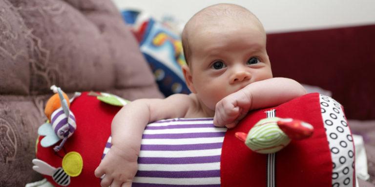 Krabbelrollen für Babys gibt es in vielen verschiedenen Ausführungen