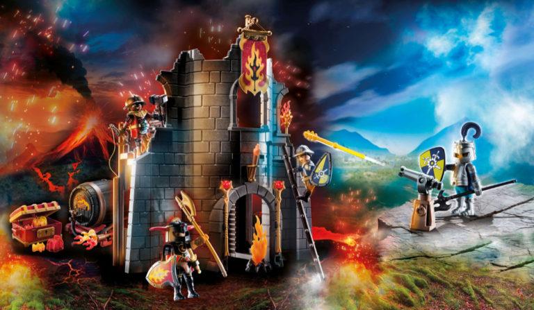 Die Playmobil Ritterburg Novelmore garantiert Spielspaß
