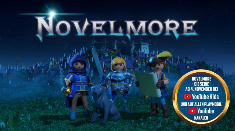 Playmobil Novelmore auf YouTube Kids
