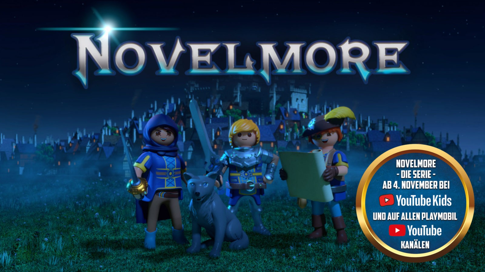 Playmobil Novelmore auf YouTube Kids