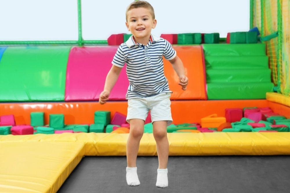 Hüpfmatratze Kinder