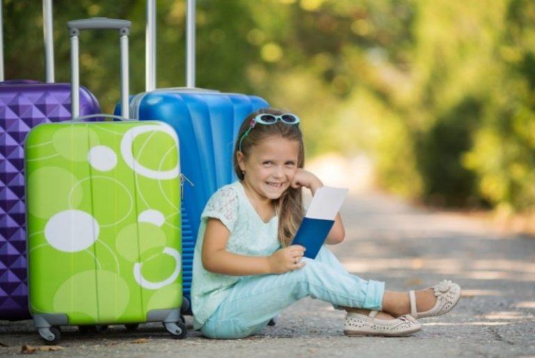 Kinderkoffer für den Urlaub